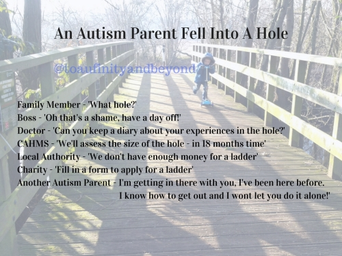 An Autism Parent Fell Into A Hole
